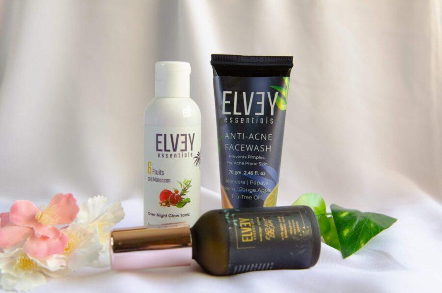 "Elvey Essentials ""Acne Warrior Night Care Trio ""Kit 2"